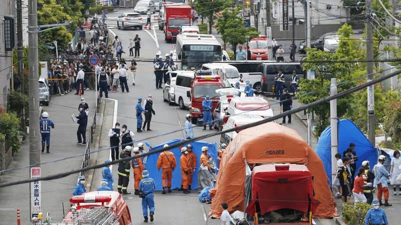 Two killed in mass stabbing in Japan