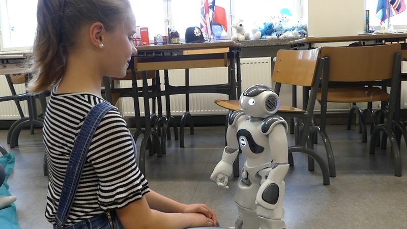 The robot teachers learning human emotions