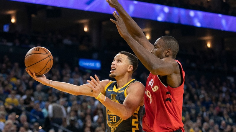 The Warriors and Raptors battle for NBA supremacy