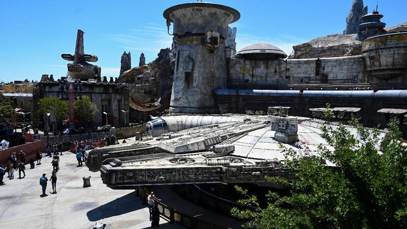 Disney opens first 'Star Wars' theme park