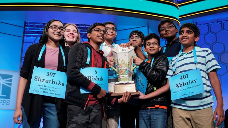 Scripps Spelling Bee ends with eight champs
