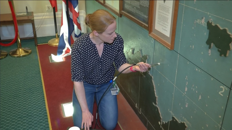 Uncovering the secrets of a D-Day map