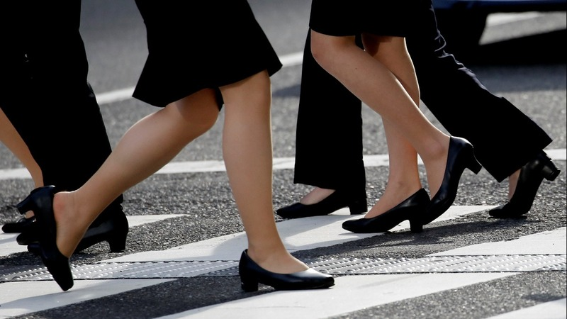 #KuToo: Thousands protest Japan's high-heel culture