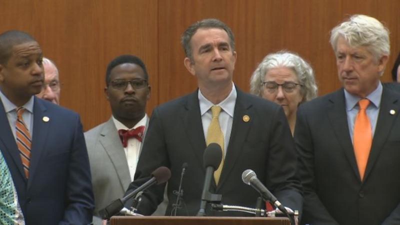VA governor calls for gun control laws