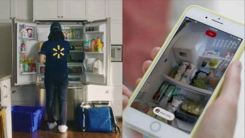 Walmart to deliver groceries to your fridge