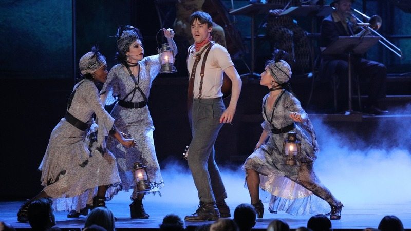 'Hadestown' storms the Tony Awards