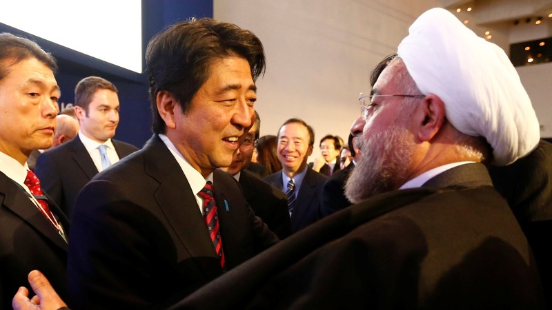 Why is Japan's Abe going to Iran?