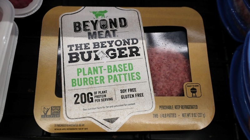 Beyond Meat drops after meteoric rise questioned