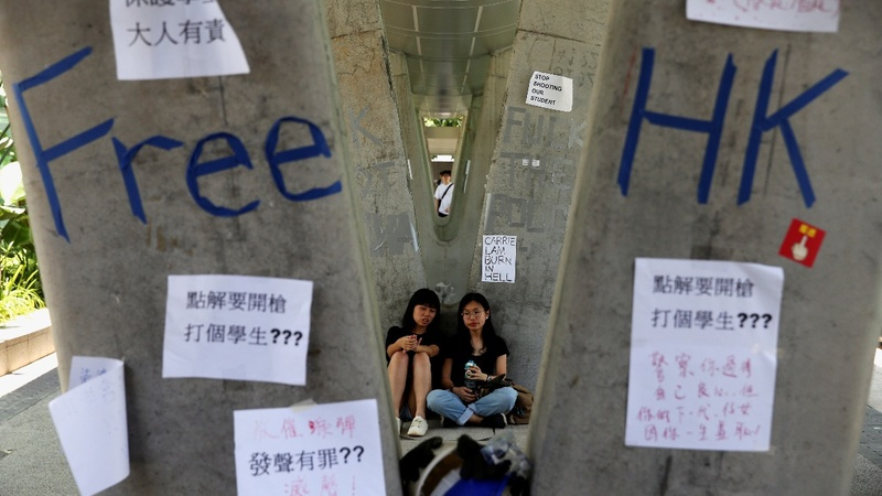 'We will fight': Hong Kong braces for protests