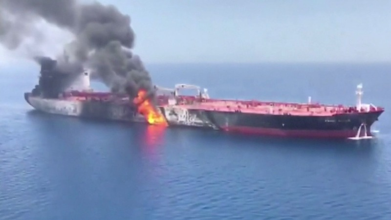 US turns up heat on Iran after tanker attacks