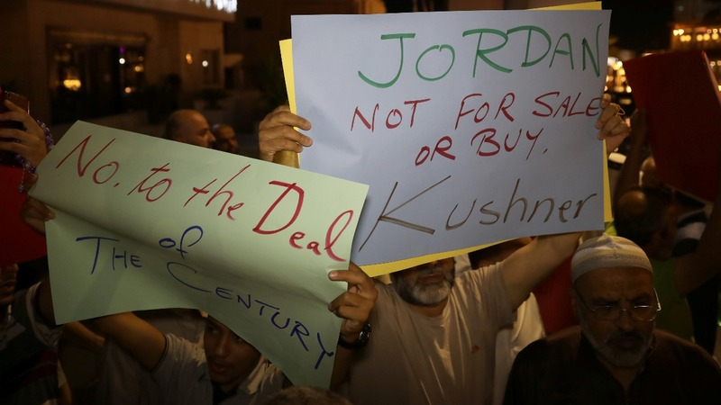 Trump Mideast peace plan proving unpopular in Jordan