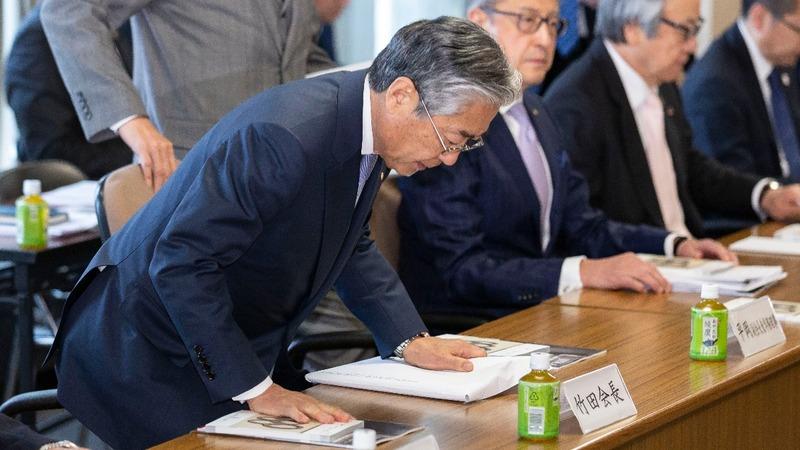 Japan Olympics chief at heart of bribery probe