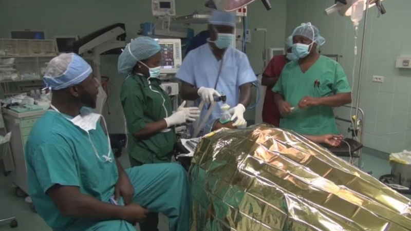 This is Gabon's first gender reassignment surgery