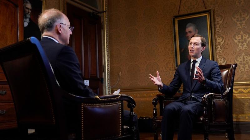 Kushner spearheads U.S. economic plan for Mideast
