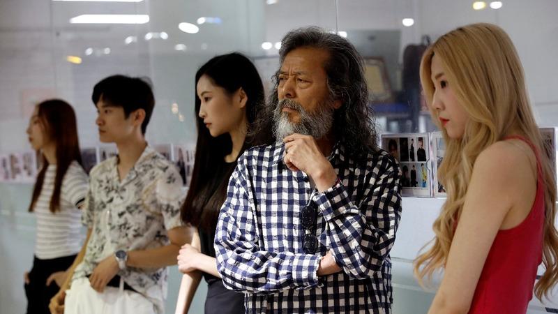 South Korean model rocks catwalk at 65