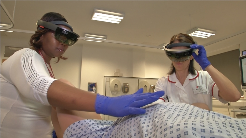 The AR tech aiding midwives with dangerous births