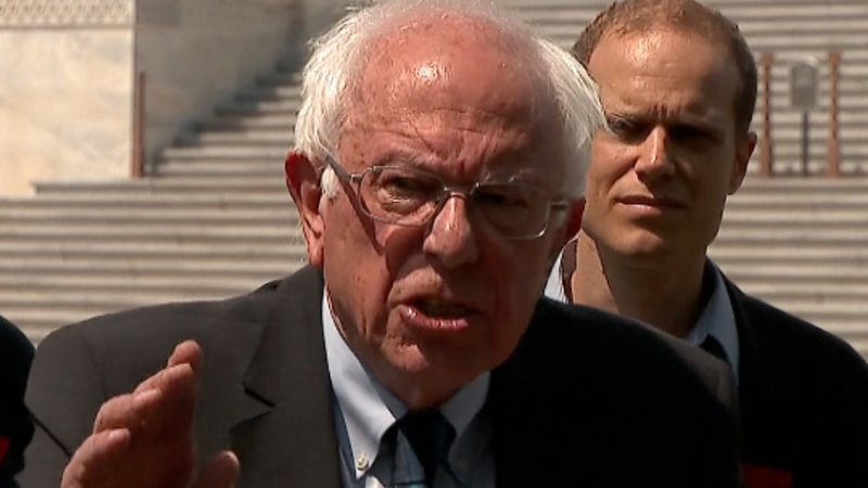 Bernie Sanders calls for erasing all student debt
