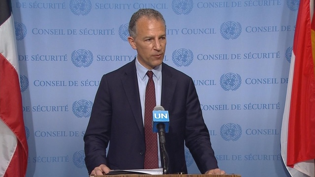 Iran attacks 'unacceptable': Acting U.S. amb. to the U.N.