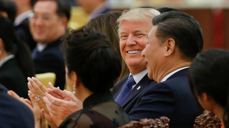 Trump okay 'with any outcome' from meet with Xi