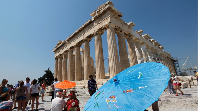 Climate change takes its toll on Greek ruins