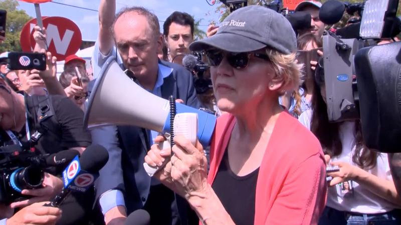 VERBATIM: Dems visit migrant facility before debate
