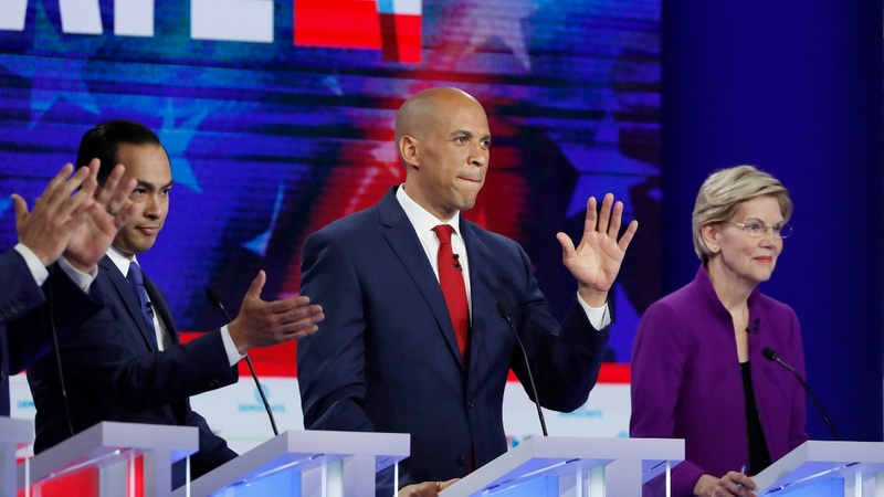 Democrats battle it out in first debate