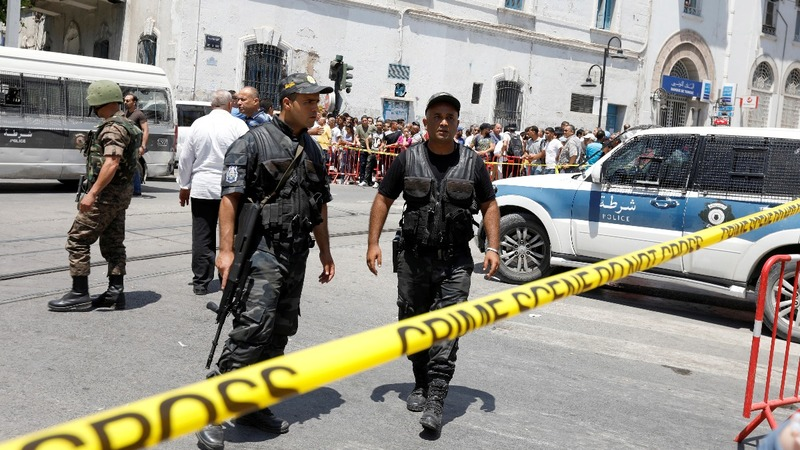 Deadly suicide bomber attacks hit Tunis