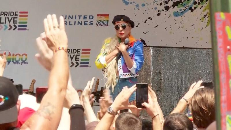 Gaga: 'I would take a bullet' for LGBTQ rights