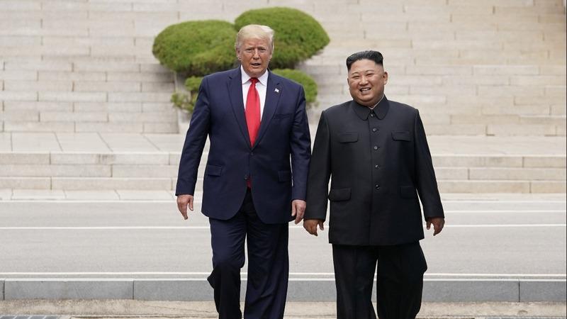 Trump makes history as he meets Kim on DMZ