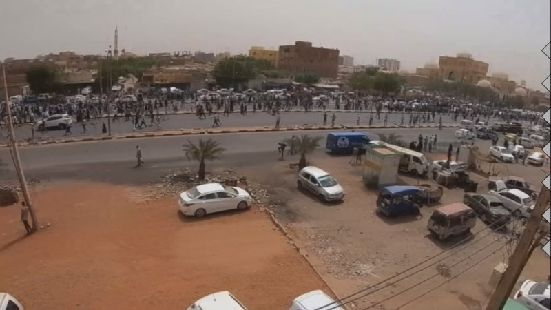 Tens of thousands protest in Sudan