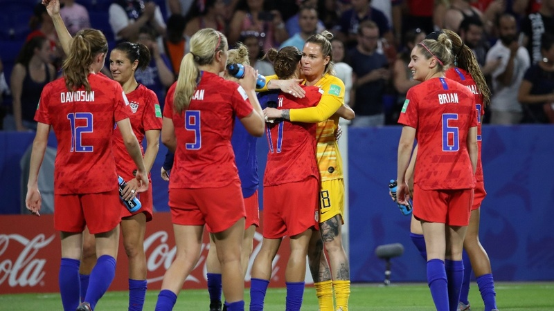 U.S. headed back to the Women's World Cup final