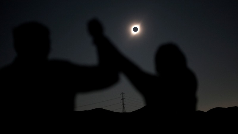 INSIGHT: A solar eclipse darkens Chile's skies