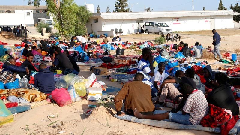 Dozens killed in Libya air strike: officials