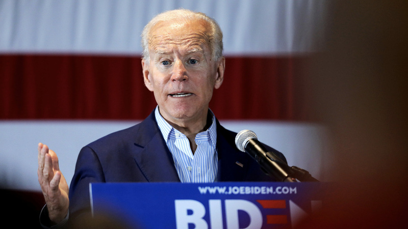 Biden's support from black voters cut in half: poll