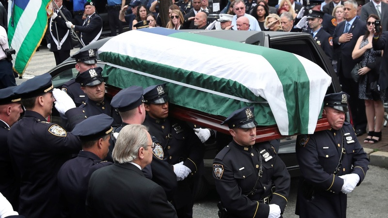9/11 responder, victim advocate, laid to rest in NYC