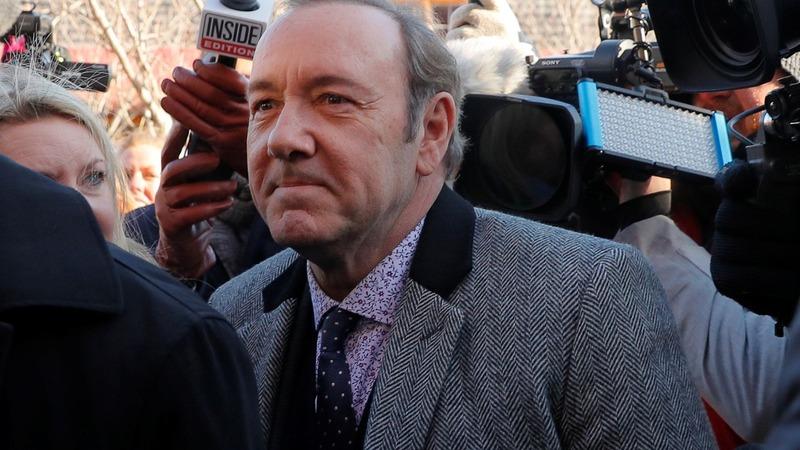 Kevin Spacey's alleged victim drops civil lawsuit