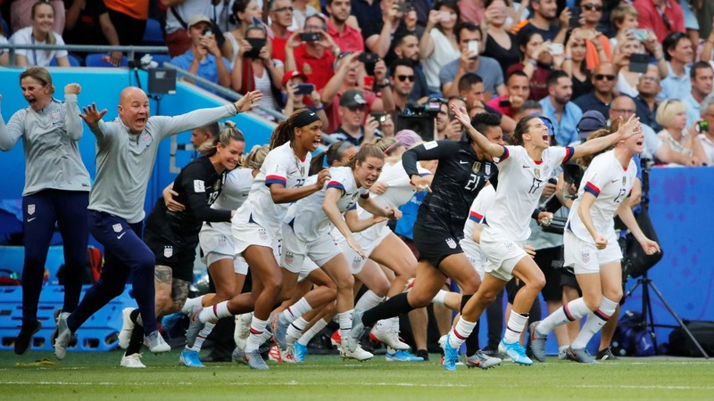 U.S. takes fourth Women's World Cup