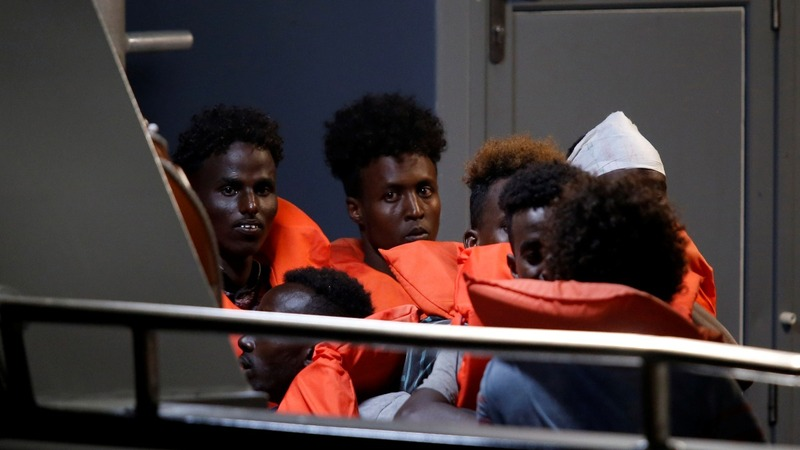 Migrants disembark in Malta, rift with Italy deepens