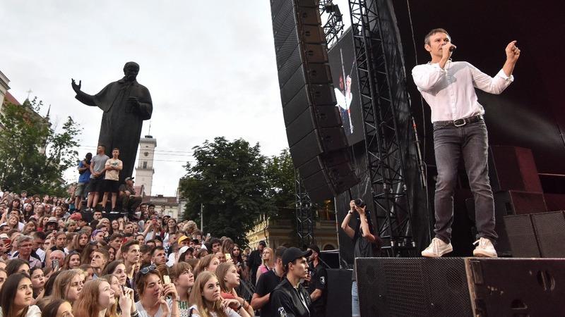 Ukrainian rock star to run for Parliament