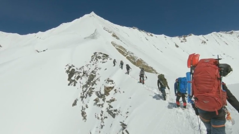 Video reveals final steps of Himalayan climbers