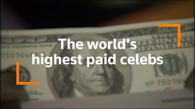 The world's top 5 highest paid celebs