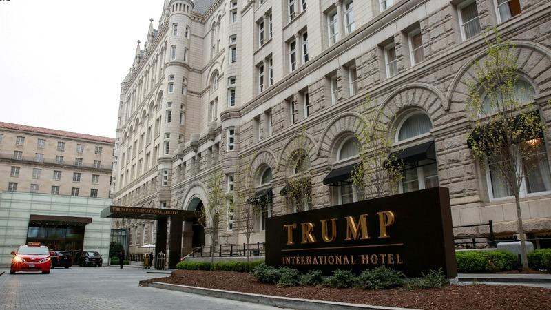Appeals court hands win to Trump in emoluments case