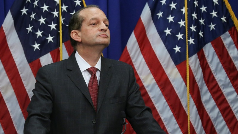 Labor Secretary Acosta defends Epstein plea deal