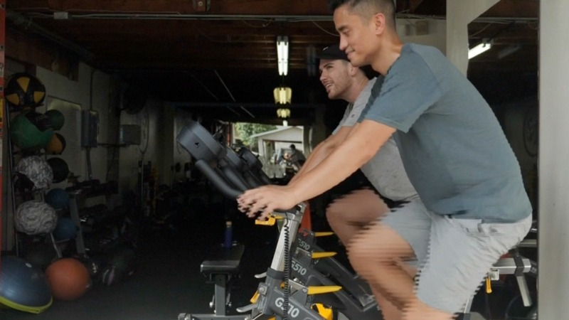 Human-powered gyms harness 'clean' energy