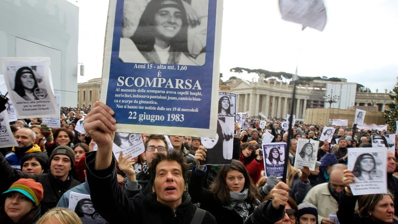 Missing girl search leads to empty Vatican tomb