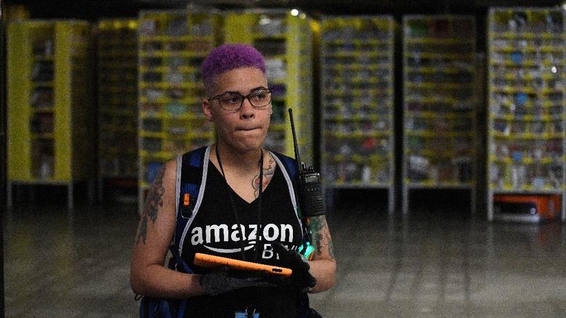 Amazon pledges to retrain 100,000 U.S. workers
