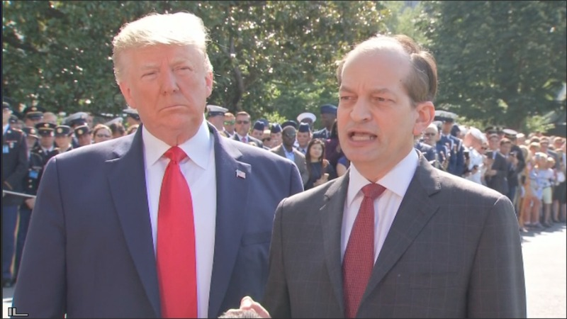 Acosta resigns amid Epstein controversy
