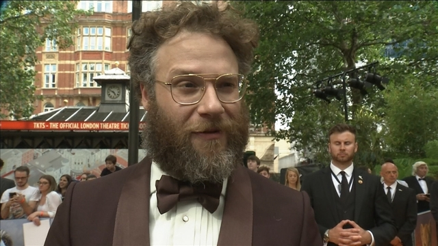 """Seth Rogen on 'super weird' royal premiere of """"The Lion King"""""""