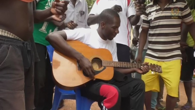 Burkina convict produces music from behind bars