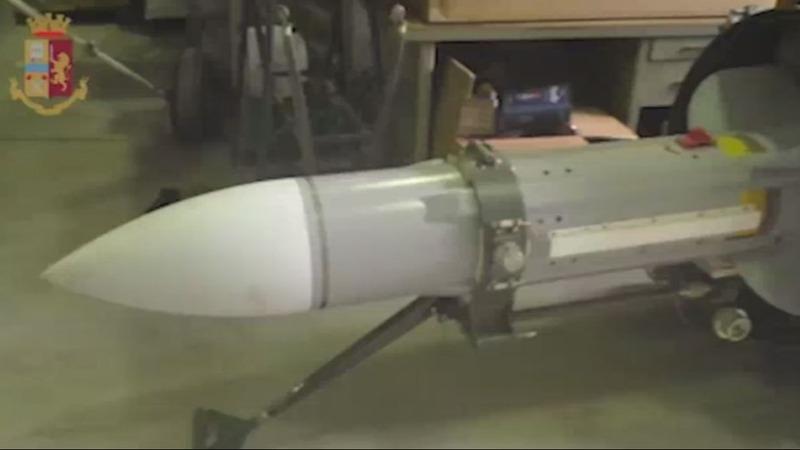 Italy seizes missile from neo-Nazi sympathisers